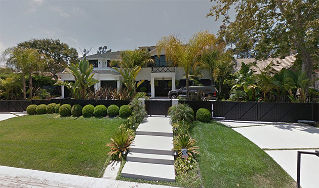 adresse maison de johnny hallyday a los angeles