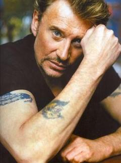 tatouage panthère Johnny Hallyday