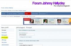 Avatar forum johnny Hallyday