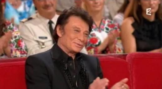 Johnny Hallyday Vivement Dimanche 02 octobre 2011