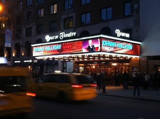 johnny hallyday au beacon theatre de new york johnny