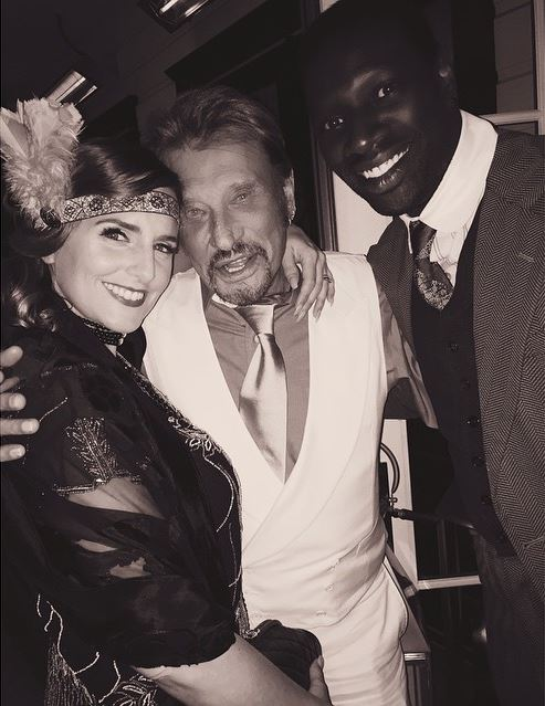 Johnny Hallyday Anniversaire 72 ans Omar Sy