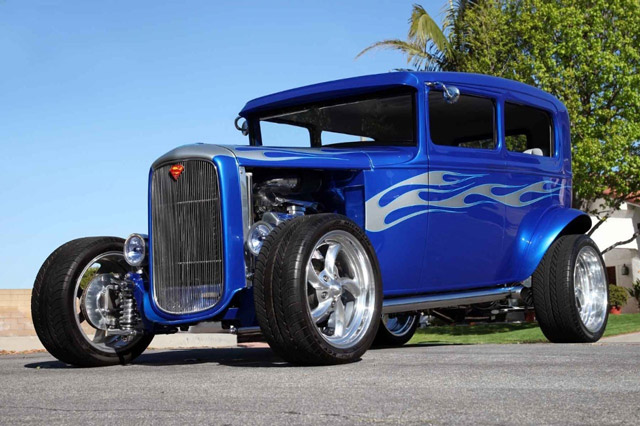 Voiture-Hot-Rod-de-Johnny-Hallyday