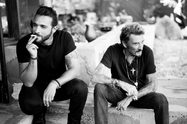 yodelice johnny hallyday maxime nucci