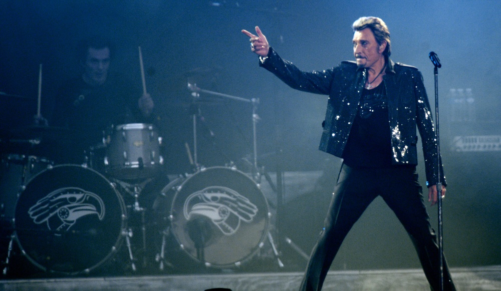 Concert Johnny Hallyday grenoble