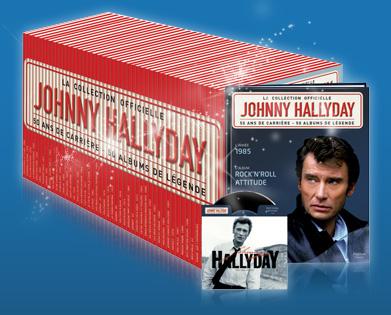 nouvelle collection johnny hallyday 50 ans de carri re en 50 albums johnny hallyday. Black Bedroom Furniture Sets. Home Design Ideas