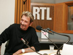 Johnny Hallyday interview sur RTL