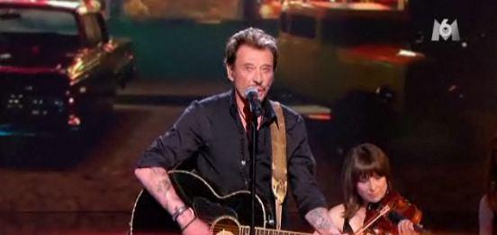 Johnny Hallyday X Factor M6 vidéo