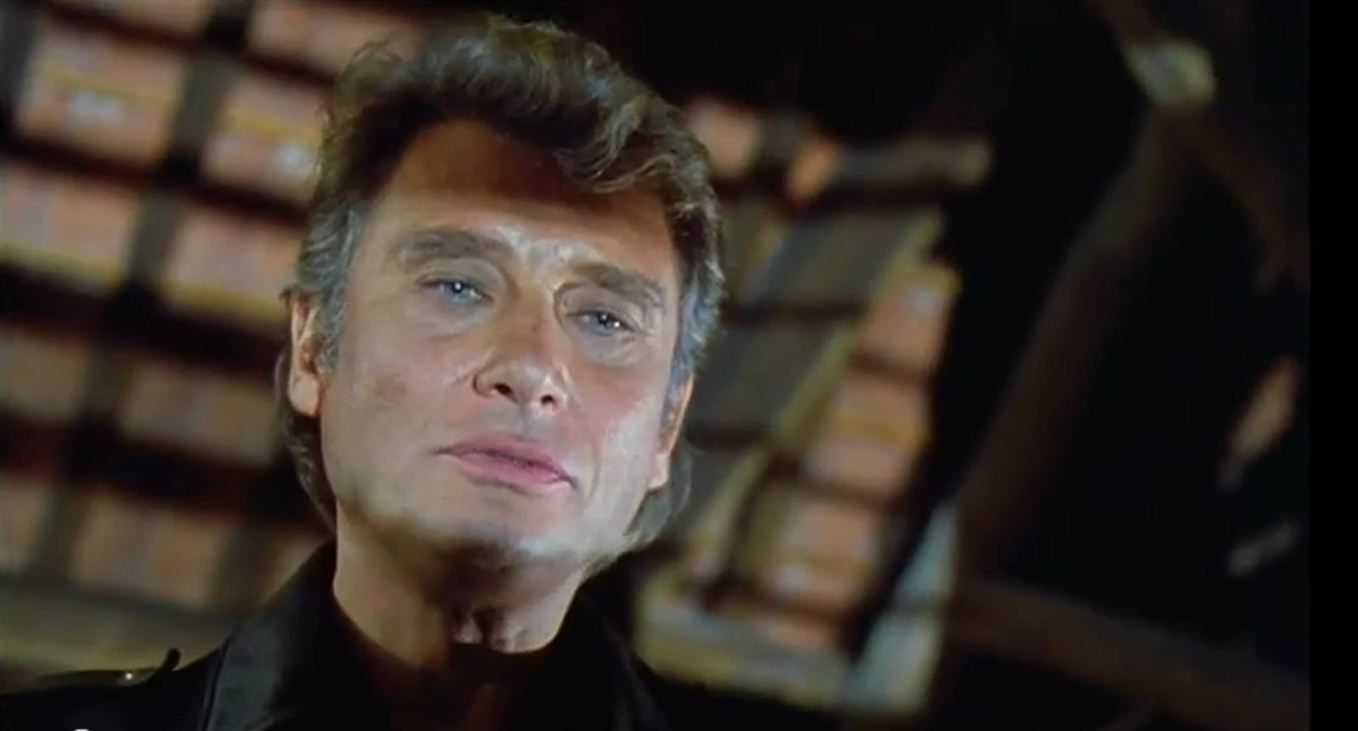 Johnny Hallyday dans David Lansky