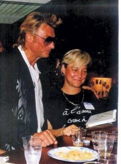 Johnny Hallyday et Josette Sureau