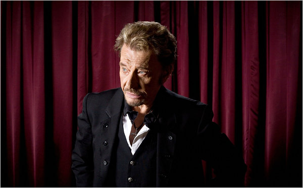 Johnny Hallyday New York Times