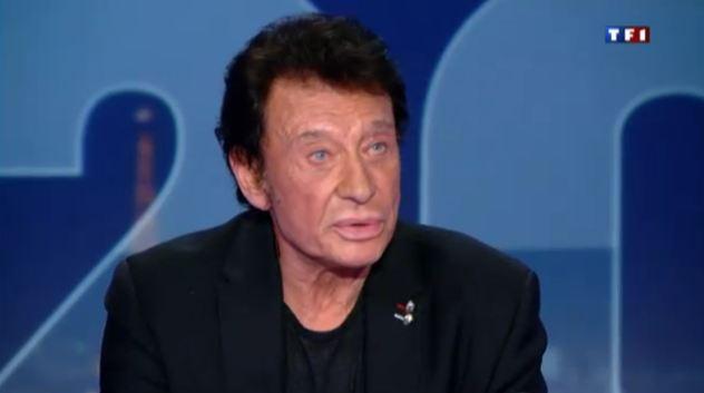 Johnny Hallyday JT 20 heures TF1 03 septembre 2011