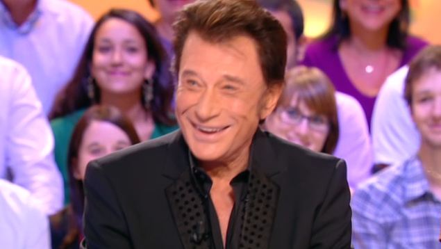 Johnny Hallyday le Grand journal canal plus