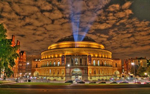 Royal Albert Hall - concert Johnny Hallyday