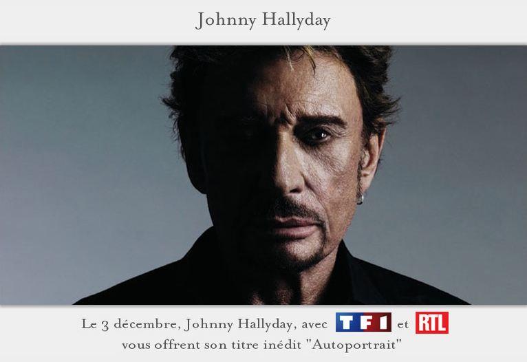 Autoportrait Johnny Hallyday