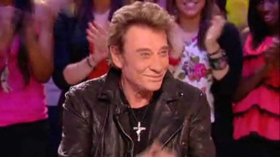Johnny Hallyday Grand Journal 09 décembre 2011