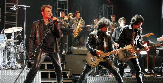 Concert Johnny Hallyday Los Angeles Orpheum