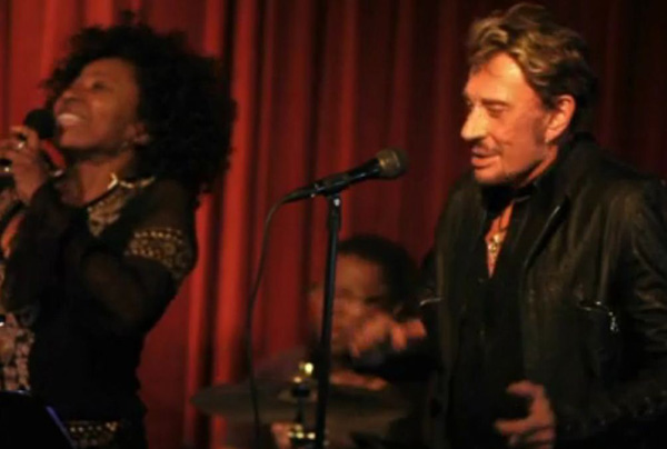 Johnny Hallyday répétitions à Los Angeles 2012