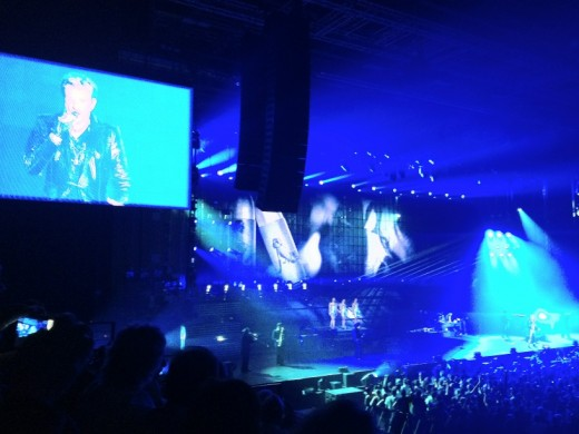 Concert Johnny Hallyday Montpellier 2