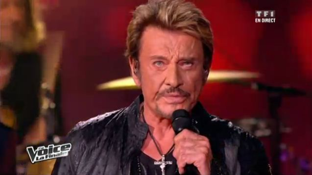 Johnny Hallyday The Voice Finale Vidéo