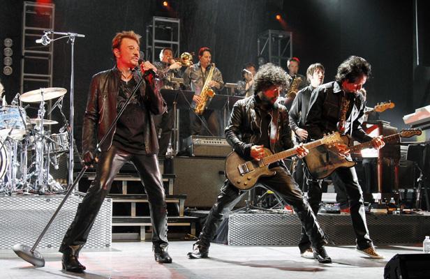 Johnny Hallyday tournée 70 ans 2013