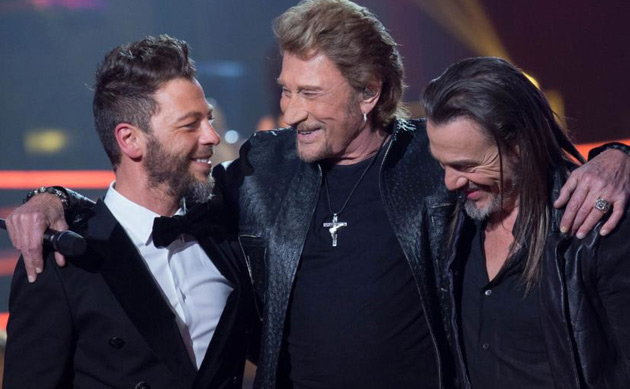 Johnny-Hallyday-Christophe-Maé-Florent-Pagny