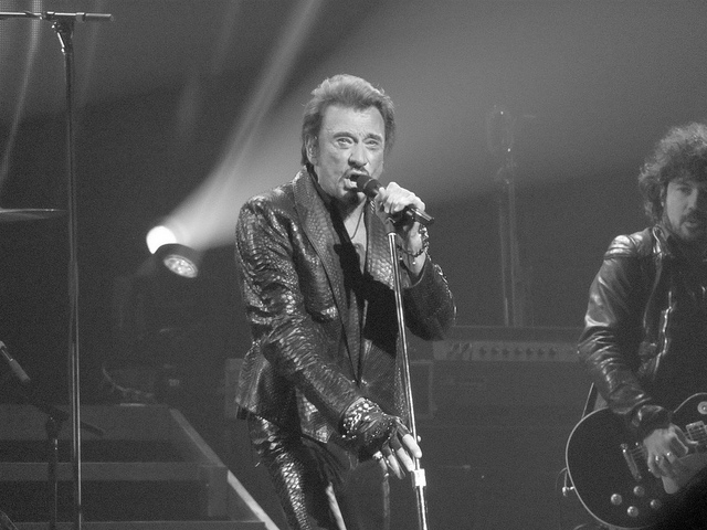 Johnny Hallyday Beacon Theatre 2012