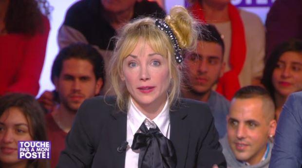 Julie Depardieu Touche pas à mon poste Johnny Hallyday