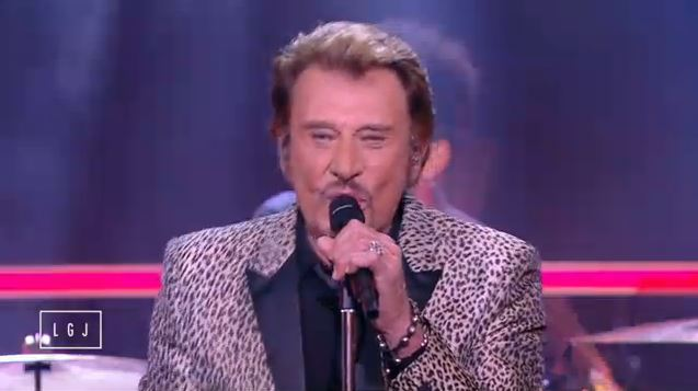 johnny hallyday le grand journal rester vivant