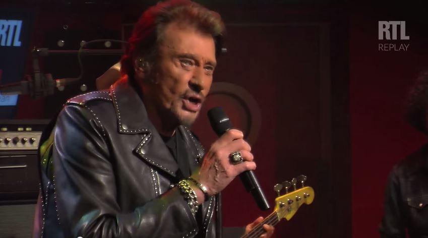 johnny hallyday concert RTL 2014