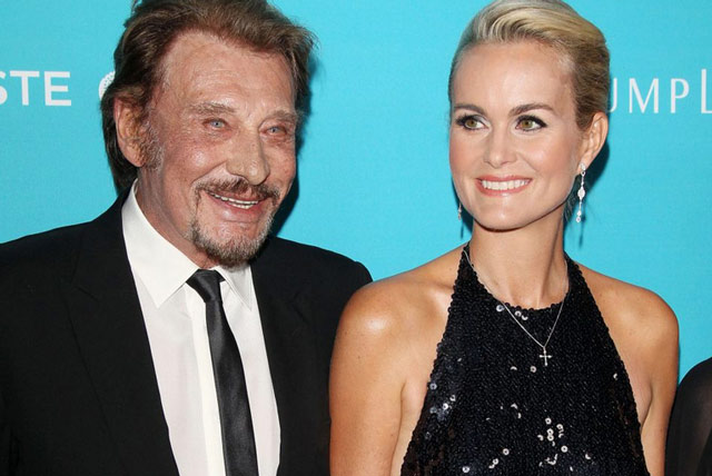 Johnny-hallyday-Laeticia-aux-CDG-awards-Bevelry-Hills