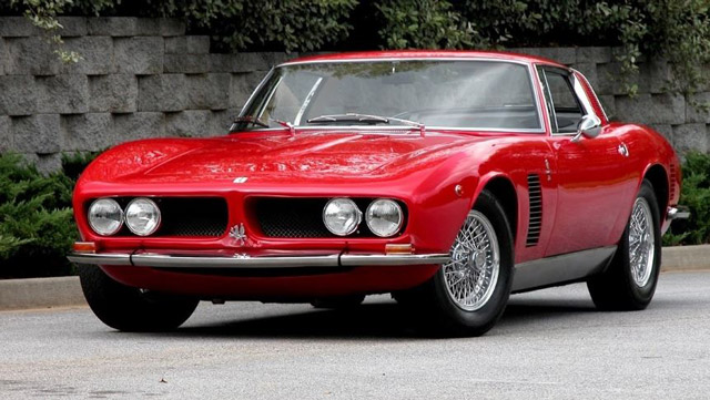 Voiture-Iso-Grifo-de-Johnny-Hallyday
