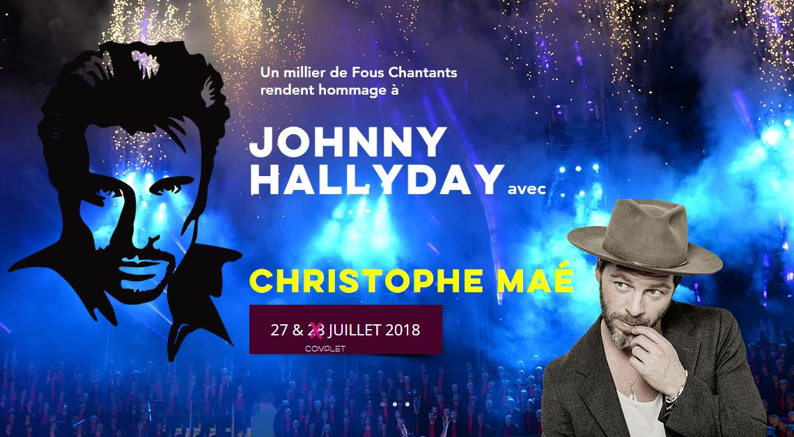 Johnny Hallyday Fous chantants