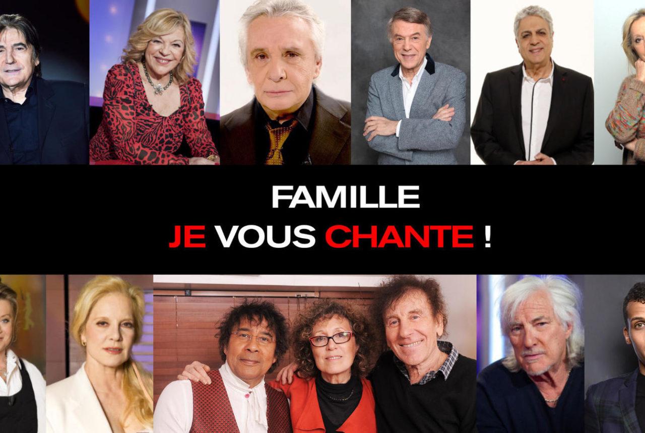Famille je vous chante Johnny Hallyday Mireille Dumas