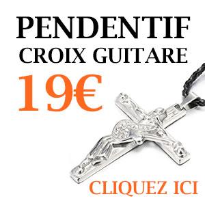 pendentif-croix-johnny-hallyday-crucifix-collier-guitare