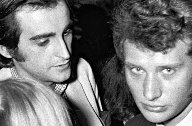 Dick Rivers et Johnny Hallyday