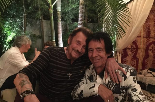 Johnny Hallyday guitariste Robin Le Mesurier