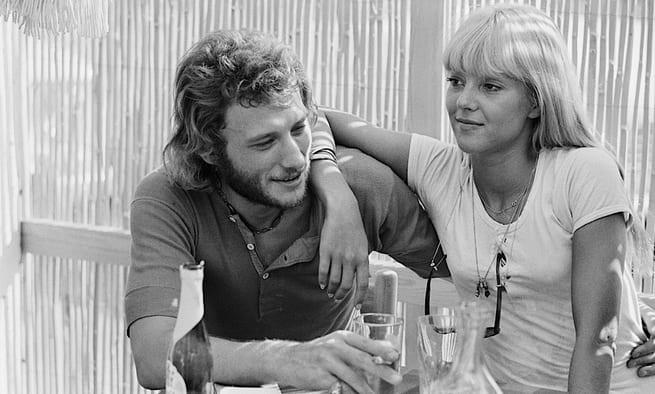 Johnny Hallyday et Sylvie Vartan à Saint-Raphaël